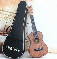 Wholesale 26 inch Soprano Pad Ukulele Bag Canvas Ukulele Soft Gig Bags Small Guitar Case Ukulele Accessory Guitar bag NO
