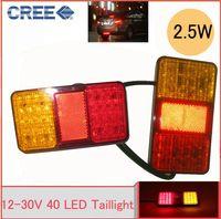 Wholesale HOT SELL LED BOAT TRAILER TRUCK TAIL LIGHT E MARKER APPROVAL LED