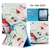 apple cake mix - FOR Apple iPad Case Lovely Tower Cake Design Premium PU Leather Folio Stand Protective Skin