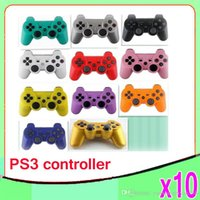 Wholesale Wireless Bluetooth Game Controller Gamepad for PlayStation PS3 Game Controller Joystick for Android video games ZY PS