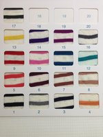 Wholesale Factory direct sales Jersey Linen Stripe Knitted Fabric F171