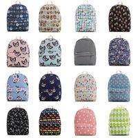 Wholesale New style canvas backpack in women men casual travel daypacks high capacity waterproof teenage school bag