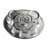 Wholesale Birthday Party Cake Tools Large Size Mickey Cake Pan Baking Molds For Mickey Mouse Shape PC001