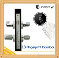 Wholesale Sample order New arrived iSmartEye L3 Fingerprint Lock Cylinder Convenient installation Smart Lock mm mm only cylinder
