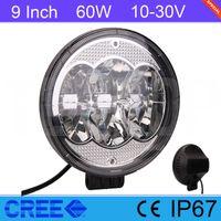 Cheap 30 Degree 60W LED Light Bar Best 6000lm 7 9 Inch LED Work Light