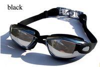 Wholesale Adult Non Fogging Anti UV Swimming Goggles Swim Glasses Adjustable New Hot Selling