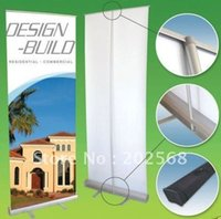 Wholesale USA Canada Europe Australia Trade Show Retractable Roll Up Banner Stand Aluminum NEW quot x79 quot