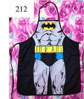 Wholesale New Best Selling Birthday Present Evening Party Present Aprons Cartoon Batman Aprons Fast Shipping