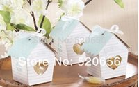 baby lovebirds - bird house favor candy boxes baby shower gift box lovebird wedding chocolate box bridal shower favor party supplies