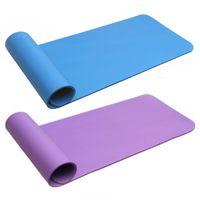 Wholesale 10mm Thick NBR Yoga Mat Beginners Fitness Mat Yoga Mat Flexible Non slip Exercise Pad CM Environmental Odorless