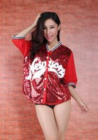 Wholesale Special new costumes nightclub singer ds lead dancer bar dj hip hop jazz Coca sequined jacket
