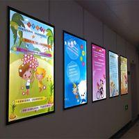 Wholesale 9W LED Advertising Light Boxes V Creative LED Advertising Equipment Low Innner Temperature H Lifetime