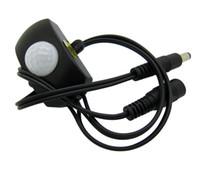 Wholesale Pir Sensor Switch Motion Human Induction Black Color V T For Led Strip Light