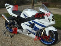 Precio de Suzuki gsxr750 fairing-Blanco INYECCIÓN Carenado Fit SUZUKI GSXR750 GSXR600 2004-2005 80