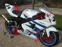 Precio de Suzuki gsxr750 fairing-INYECCIÓN blanco Carenado para Suzuki GSXR750 GSXR600 2004-2005 80
