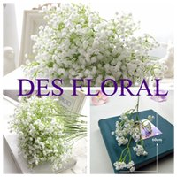artificial plants and flowers - Hot PU Gypsophila Baby s Breath Artificial Flowers Plant for Home Party and Wedding Decoration