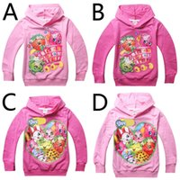 season - quot shop quot season children hoodies style girls hooded sweatshirts Fruit printed kids long sleeve pullover baby girls clothes HX