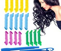 adapt plastic - Hot sale Magic Hair Curler Roller Tool adapt dry and wet hair set new