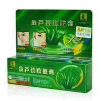 Wholesale 30g Gold Aloe Acne dispelling Plaster Cream Ointment Anti Dark Sore Balance Skin Pigmentation Corrector Anti Acne Oil Control