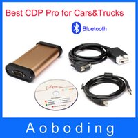 Wholesale Best Selling Bluetooth Car diagnostic tool for best CDP Pro for cars trucks Compact Diagnostic Partner Delivery Free