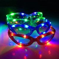 Wholesale 2015 Led Glasses Flashing Eyeglasses Party Dancing Light Up Toys Bar Club Holiday Disco