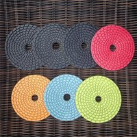 diamond flexible polishing pads - 4 quot mm Premium grade flexible wet polishing granite diamond sanding pads polishing discs tool grinders polished stones GS1