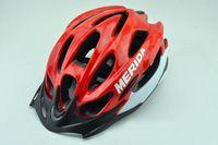 Wholesale High end Merida bicycle helmet riding helmet riding helmet MERIDA bivalve Hemming colors optional Classic