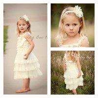 2016 Nouvelle arrivée Fashion Girl Summer Enfants Princesse Sling dentelle TUTU Robe bébé Robes 0-8T Livraison E690