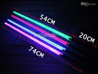 Wholesale cm lightsaber Multicolor optional plastic toys nightclubs concert add atmosphere Star Wars toys interactive toys boy gift