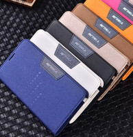 Wholesale GALAXY Note Case Flip PU Leather Wallet Stand with Card Slots Cases for SAMSUNG Note2 n7100 Mobile Phone Matte Back Cover Skin Case Holder