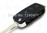 mini key chain - 1PCS Spy Mini DV Car Key Chain hidden Camcorder Record Keyring Recorder Motion Detector pocket DV car keys micro camera DVR