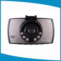 Full HD 1080P Cámara de vídeo de coches Car DVR Grabador 120 grados gran angular lente 2.4inch pantalla con G-sensor Car detector