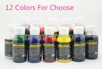 airbrush makeup colors - bottles temporary airbrush tattoo makeup ink for body painting colors to choose
