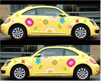 Wholesale car Sticker custom different models of car stickers personalized custom color