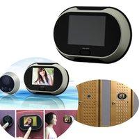 Wholesale Peephole Viewer Lens AutoTake Photos Camera Don t Disturb Function Door Bell Eye quot TFT Digital Video Doorbell Doorphone order lt no track