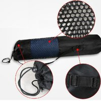 Wholesale Itemship Yoga mat backpack exclusive breathable mesh thick waterproof backpack yoga bag random style