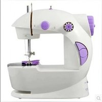 Wholesale 2015 New Small Multifunction Mini Electric Sewing Machine Portable Household Sewing Machine