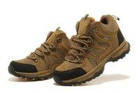 Caoutchouc Vibram gros-fashion antidérapante Intensifier chaussures de randonnée en cuir respirant étanche GORE-TEX chaussures d'escalade en plein air Hommes Sneakers