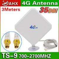 Wholesale 4G Antenna dBi TS9 For HUAWEI E589 E392 ZTE MF61 MF62 aircard s s760s G LTE FDD TDD ROUTER MODEM