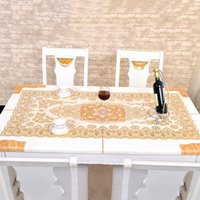 pvc table cloth - High Quality Europe Style Table Cloth PVC Restaurant Home Decorative Table Cloth Vintage Slip resistant Table Cover JM0105 smileseller