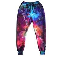 Wholesale new fashion Cool mens joggers pants d universe Print sweatpants Casual hip hop pants men skinny camouflage pants