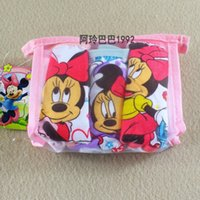 Wholesale Cartoon Mickey Minnie Baby Boys Girls Causal Training Pants Learning Pant Shorts Underwear Children Clothing Childs Kids D721