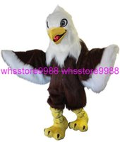 accord making - Highly customized according body size High quality EVA Material Helmet Brown Eagle Mascot Costumes Birthday party Apparel