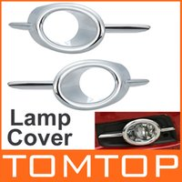 Wholesale ABS Chrome Front fog lamp cover fog light cover for Chevrolet CRUZE L R CAR accessories