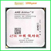 Wholesale X4 E X4 X4 original desktop CPU AMD Athlon II X4 E G M AM3 pin Dual Core