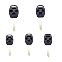 accord cases - 5Pcs Replacement Remote Key Case Fob Buttons Car Key Case Shell for Honda Accord CR V Ridgeline Civic