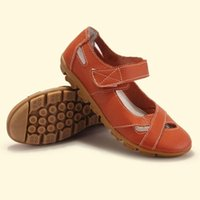 ballet flat shoes price - Lowest Price New Women s Shoes Woman Genuine Leather Shoes Women Flats Causal Sandal Round Toe Flexible Ballet Loafer Plus Size