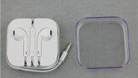 apple iphone earpods - Original iPhone6 plus Earphone Headphone earpods Headset mm Handsfree with Mic Earphones for iphone5s with Retail Box good