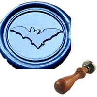 bats fly - Best Quality Vintage Custom Bat Flying Wax Seal Stamp Set for Wedding Card Invitation Envelope Seal