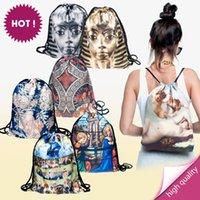 alice backpack - Backpacks print ART mucha cathedral garden tutankhamon nude alice wonderland